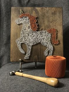 The purity of the Unicorn String Art