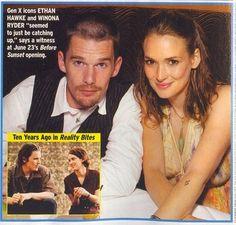 Ethan Hawke and Winona Ryder