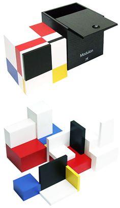 Naef Modulon Minimal Wooden Art Architecture Puzzle Toy | NOVA68 Modern Design$274.66