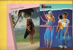 Postcards, Barbie magazine, Summer 1986