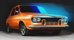 Dacia 1300 on Behance Automobile, Rally Car, Ford, Evo, Transformers, Nissan, Classic Cars, Vans, 4 Hours