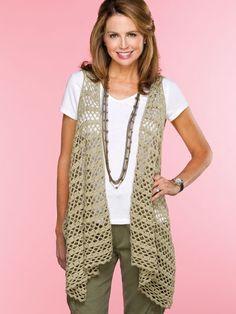 Bandolier Vest crochet pattern