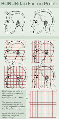 Gesicht Proportionen: Profil anzeigen von BittersweetDisease 2081