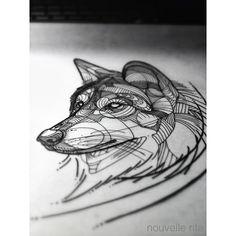 #nouvellerita #wolf #sketch