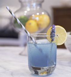 ... Lavender Collins Cocktail is the perfect mix of sweet (from a lavender