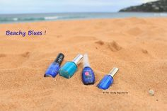 Staying on the blue theme , in today's post I share with you my favorite blue nail polishes that I enjoy wearing during summer. Blue is on. Nail Polishes, Nails, My Favorite Color, My Favorite Things, Vanity Bag, Blue Nail Polish, My Eyes, You And I, Blues