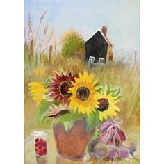 A fine art greeting card by painter Tessa Newcomb, blank inside for your own message. Our greeting cards are printed on beautiful, premium FSC-approved board. Some Beautiful Images, Small Drawings, Large Painting, Contemporary Artists, My Images, Printmaking, Fine Art Prints, Greeting Cards, Fall
