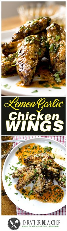 Another excellent and easy chicken wings recipe: the lemon garlic bomb! Whether you like them grilled on the BBQ or baked in the oven, the crispy wings will have an incredible heat and kick from all the ingredients in the sauce. The easy way to reduce the acidity from the hot sauce and lemon combination is to add some honey. And voilà! Fiery pungent wings with a twist of lemon!