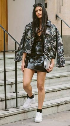 Simran of @Simisear_ styles her favorite H&M trend pieces for #LFW. | H&M OOTD