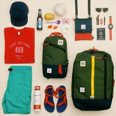 """topo-designs: """" Topo Designs - a little preview of some new pieces we're adding to the Travel Series. We're dreaming of a jaunt to Southeast Asia. """" gimme. especially those turquoise mountain shorts."""