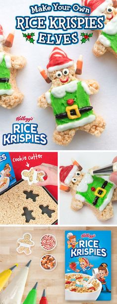 Make sure everyone leaves your #Holiday gift swap smiling with these sweet, easy-to-make #RiceKrispies Treats. Your #WhiteElephant prep has never been so simple! #SeasonsTreatings #HappyHolidays