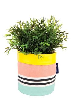 Sunnylife Canvas Planter