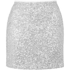 TOPSHOP Twinkle Sequin Pelmet Skirt ($72) ❤ liked on Polyvore featuring skirts, mini skirts, topshop, silver, sequin skirt, white skirt, mini skirt and topshop skirts