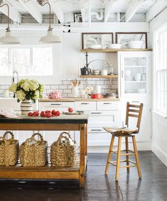 Leanne Ford's first kitchen she ever designed is filled with Ikea