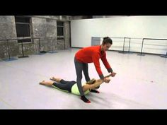 ▶ Stretching Tips from Allison DeBona- Ballet West Soloist and CW Breaking Pointe cast member - YouTube