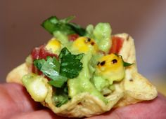 Step-by-Step tutorial to making Fire Roasted Corn Guacamole including video. how to fire roast corn, how to make guacamole, award winning guacamole, how to seed a jalapeno, how to serve guacamole, molcajete, pico de gallo, easy mexican appetizer, easy mexican recipes, avocado recipes, party foods, guacamole with roasted corn, chili's guacamole recipe, cinco de mayo recipes, tex mex recipes, california avocados, game day recipes,