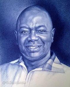 20 Realistic Ballpoint Pen Drawings from African Artist Enam Bosokah | Read full article: http://webneel.com/pen-drawings | more http://webneel.com/drawings | Follow us www.pinterest.com/webneel