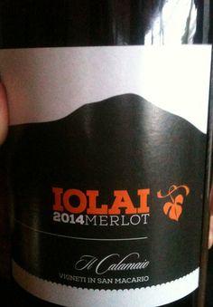Iolai - Merlot - Il Calamaio #naming #design #vino #packaging #concept #comunicazione #etichette