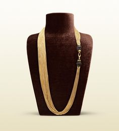 gucci bamboo necklace