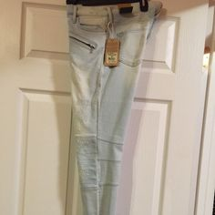 Selling this True religion Halle Moto Biker Jeans on Poshmark! My username is: dagklm2. #shopmycloset #poshmark #fashion #shopping #style #forsale #True Religion #Denim