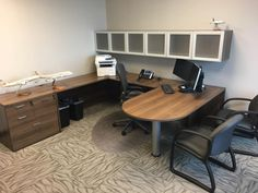 Find Office Liquidators to get a good price for used office furniture - Dave Dysart Used Cubicles, Used Office Furniture, Corner Desk, Things To Sell, Chair, Organizations, Table, Blog, Home Decor