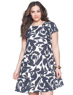 Easy Floral Dress | Women's Plus Size Dresses | ELOQUII