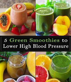 Green Smoothies To Lower High blood-pressure
