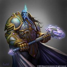 Draenei Paladin from World of Warcraft