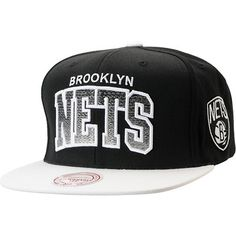 wholesale dealer c7158 c8d44 NBA Mitchell and Ness Brooklyn Nets Gradient Arch Black Snapback Hat