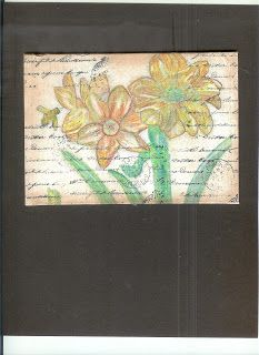 Beverly's Art Emporium: Watercolor on Canvas- Spring2013