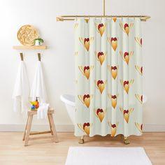 Curtains, Shower, Prints, Two Hearts, Shower Curtains, Decorative Curtains, Bath Mats, Cowls, T Shirts