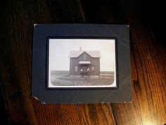 Antique Photograph Big House on the Prairie by RedRiverAntiques, $14.00