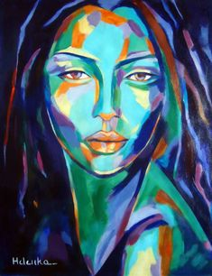 "Saatchi Art Artist Helena Wierzbicki; Painting, ""Cunning"" #art"
