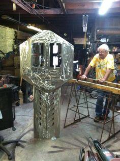 bob doster artist images | Lake City art students go heavy ...
