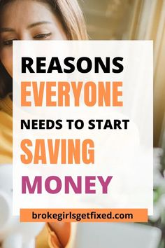 10 Super Important Reasons To Save Money - broke girls get fixed If you haven't started saving money here are 10 important reasons to save money. #savemoney #savingmoney #savings #moneygoals #moneyhabits #savingtips