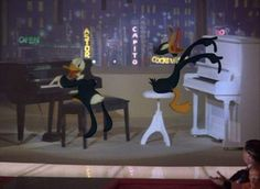 Donald and Daffy - my first intro to - and love affair with - the classics!