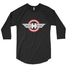 Autism Awareness T-Shirts Captain Autism Superhero Gift 3/4 sleeve raglan shirt