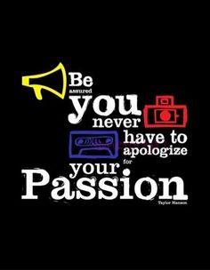 Taylor Hanson #quotes #passion #hanson