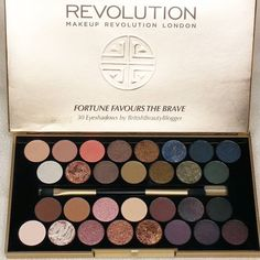 Payday treat from @makeuprevolution #fortunefavoursthebrave