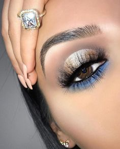 Gorgeous Makeup: Tips and Tricks With Eye Makeup and Eyeshadow – Makeup Design Ideas Eye Makeup Images, Eye Makeup Tips, Makeup Goals, Eyeshadow Makeup, Beauty Makeup, Hair Makeup, Eyeshadow Palette, Makeup Ideas, Makeup Tutorials