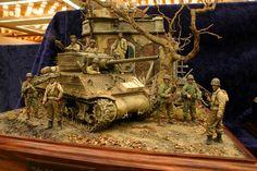 Incredible Life like Military Scene
