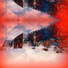 Moshiach on the Western Wall improved fabric by  winterblossom on Spoonflower - custom fabric http://www.spoonflower.com/designs/4039128