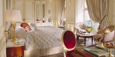 A room I'm dreaming of at Le Meurice  in Paris