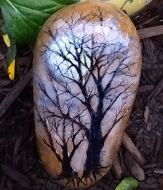 Painted rock-Aileen