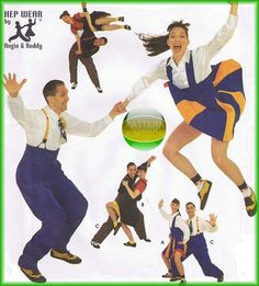 Simplicity 8952 1940/50s Big Band Swing Dance Costume Patterns