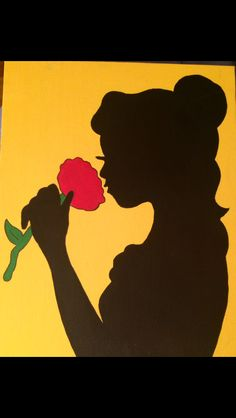 Bell (beauty and the beast) canvas painting