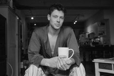 Cory Monteith. An artistically gifted man who has left this world too soon. As artistically gifted people often do.