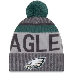 22bdc8e6bbf Philadelphia Eagles New Season Sports Beanie Cuffed Winter Knit Cap Fly  Eagles Fly