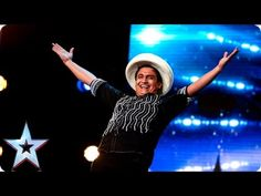 Roberto has some serious ball skills   Week 2 Auditions   Britain's Got ...