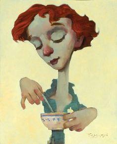 Fred Calleri / Coffee Art / Coffee Shop Stuff